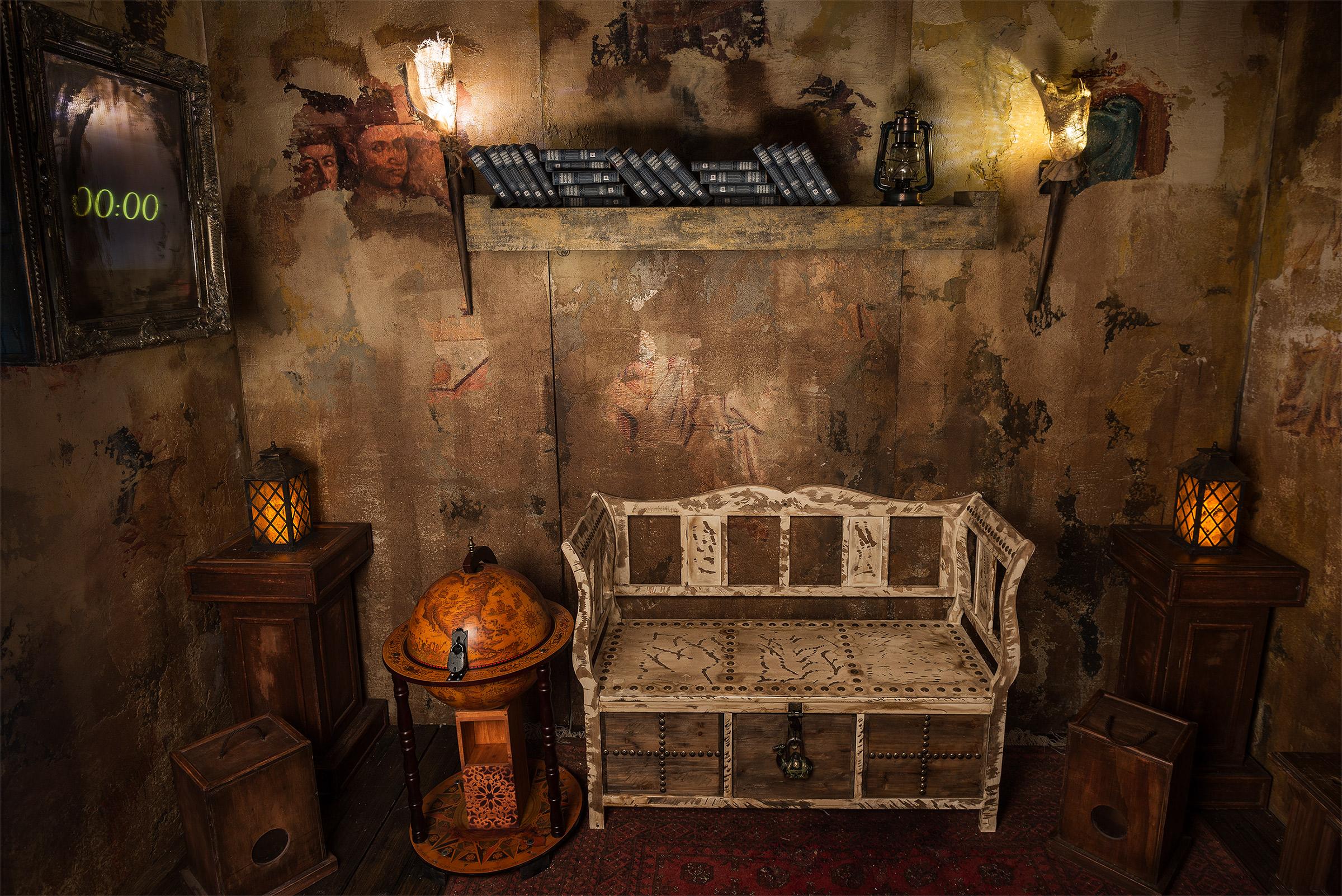 Final Escape Room Das Geheimnis der Mönche